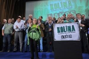Barrientos en los cuatro años de Kolina.