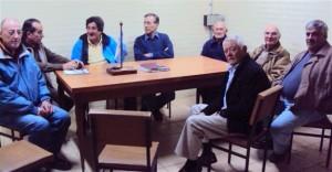 Limia se reunió con el Club de Caza y Pesca.