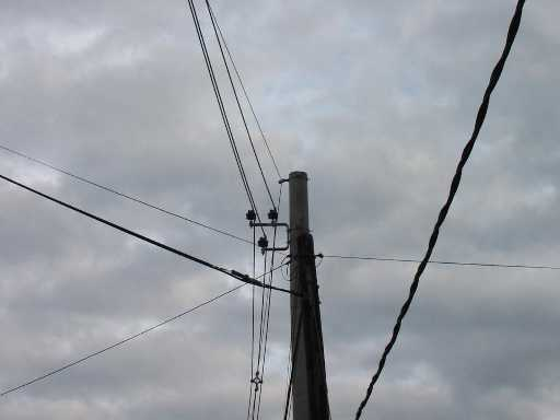 Corte de energía eléctrica en Rawson