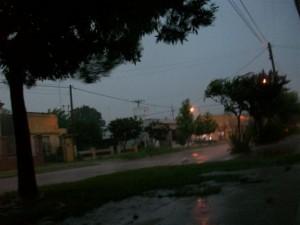 33 milímetros llovieron en Rawson.