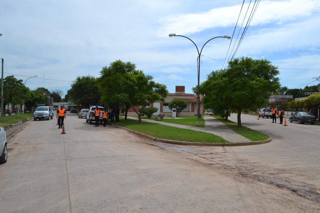 Operativo de control vehícular en Rawson