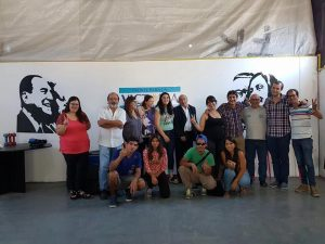 La Diputada Provincial Lucia Portos visitó Chacabuco.