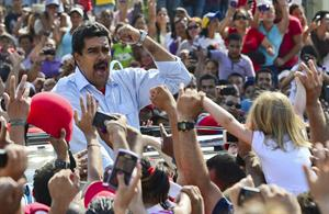 Maduro gobernará Venezuela hasta el 2019.