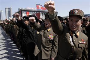 Corea del Norte entró en estado de guerra.