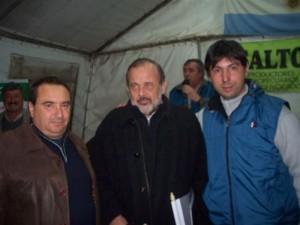 Hugo Moro y Amadeo en Salto.