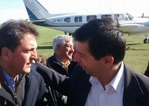 Moro estuvo con Massa en Gral. Viamonte.