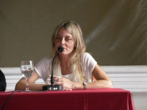 La senadora provincial Malena Baro visitó Chacabuco.