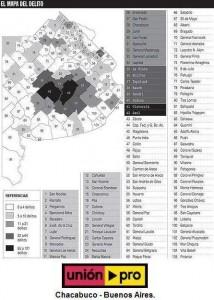 Mapa del delito Rural.