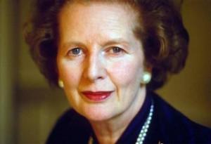 Murió Margaret Thatcher.