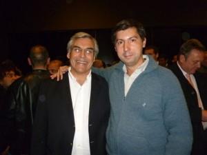 Gilberto Alegre y Hugo Moro.