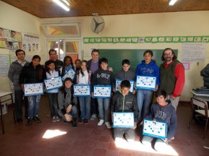 Entregan 48 netbooks en Chacabuco.