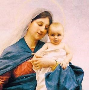 Virgen Nuestra Señora de la Guardia.