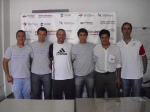 Jugadores que participaron de Torneo Internacional de Paddle.