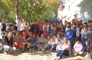 Festejo Pascuas de los participantes del Programa Envión en Chacabuco.