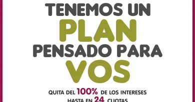 """""""Ponete al Día"""": Plan de Beneficios"""