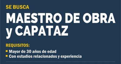 BÚSQUEDA LABORAL Y CITACIONES DEL JUZGADO DE FALTAS