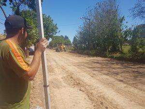 Trabajos en el barrio  Parque Azul