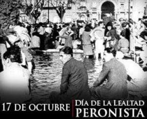 7 de Octubre: Día de la Lealtad Peronista.