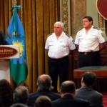 Scioli cuando anuncia la creación de la Policia de Prevencion Municipal.