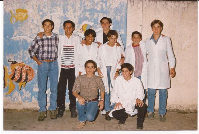 Alumnos de la Promoción 1998.