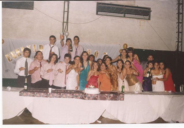 Promoción 2007 durante su Baile de Egresados.