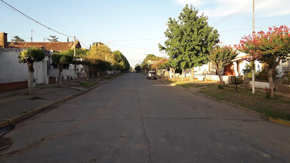 8/2/18- La imagen corresponde a avenida Chacabuco, desde calle San Martín hacía 9 de Julio.