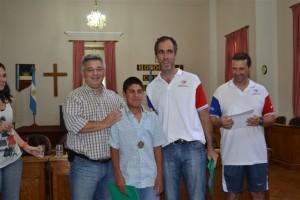 Reconocimiento a Medallistas.