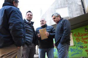 Aiola de recorrida por los barrios Alcira de la Peña y Parque Chacabuco