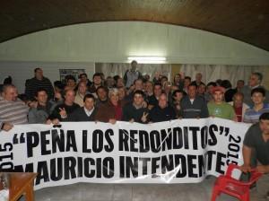 """Peña """"Los redonditos""""."""