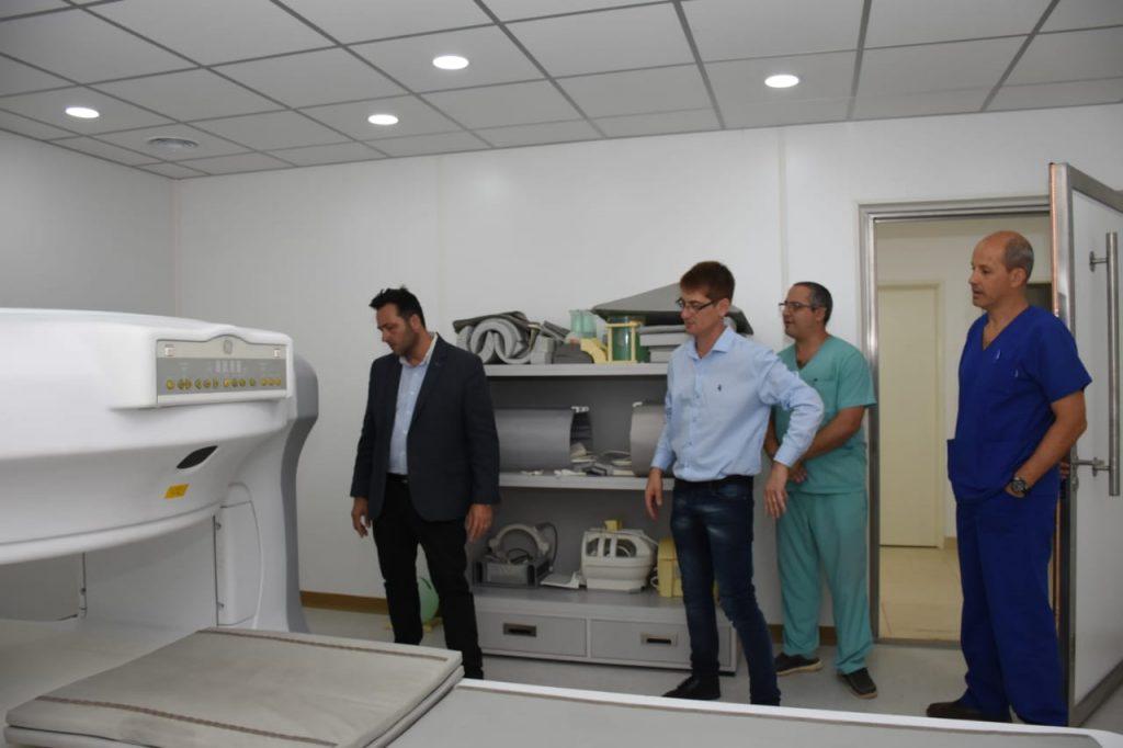 Se procederá a la puesta en marcha del resonador del Hospital Municipal