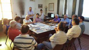 Reunión por nueva zonificación en Chacabuco.