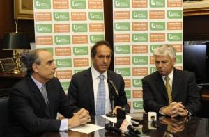 Scioli anuncia préstamos hipotecarios en el BaPro.