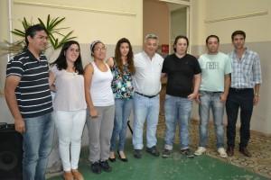 Firma de contratos del Programa Capital Semilla 2014.