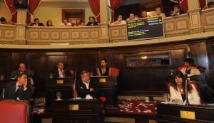 Senado Bonaerense. Foto de archivo.