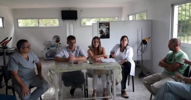 De izq. a derecha: Frassa, Serritella; Sclavi, Berterame y Gómez.