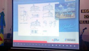 Sistema constructivo para las 272 viviendas