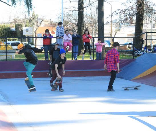 Re-apertura pista de skate.