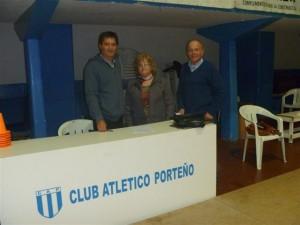 Zulema Sassone, ganadora de los mil pesos del Club Porteño.