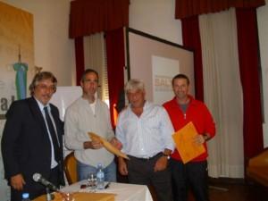 La Dirección de Deportes de la Municipalidad de Chacabuco recibe un subsidio en Salto.