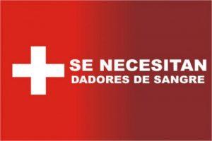 Se necesitan dadores de sangre