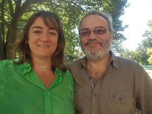 Silvina Cormick y Ariel Martínez