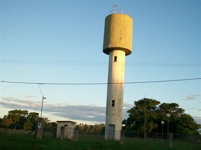 Tanque de agua potable de Castilla