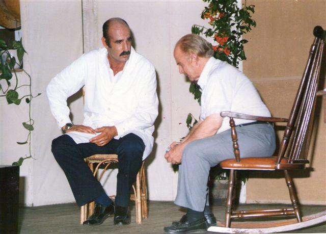 Carlos del Campo y Santiago Sanz en Las Aguas Sucias, año 1992. Foto gentileza: Carlos del Campo.