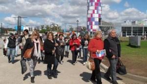 Más de 150 personas de Chacabuco viajaron a Tecnópolis.
