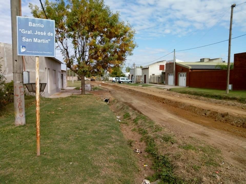 Colocan tosca en barrio San Martín