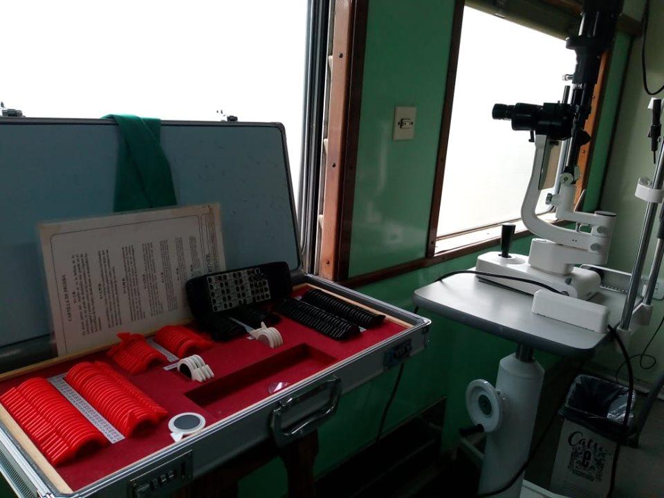 Tren Sanitario Social en Chacabuco