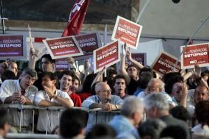 Alfonsín asumió la responsabilidad por los resultados electorales.