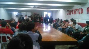 Jornada de la Juventud de la UCR en Chacabuco.
