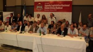 La UCR lanza su propuesta legislativa nacional 2013.