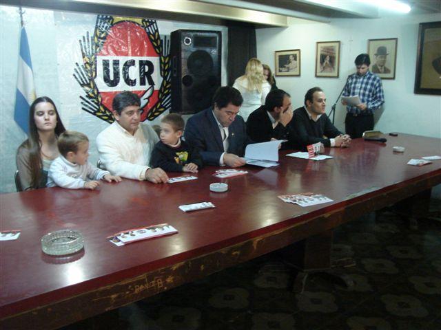 Presentación de la lista Radical en Chacabuco.